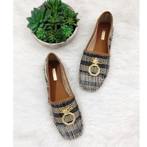 Louise et Cie Pineapple Espadrille Loafers